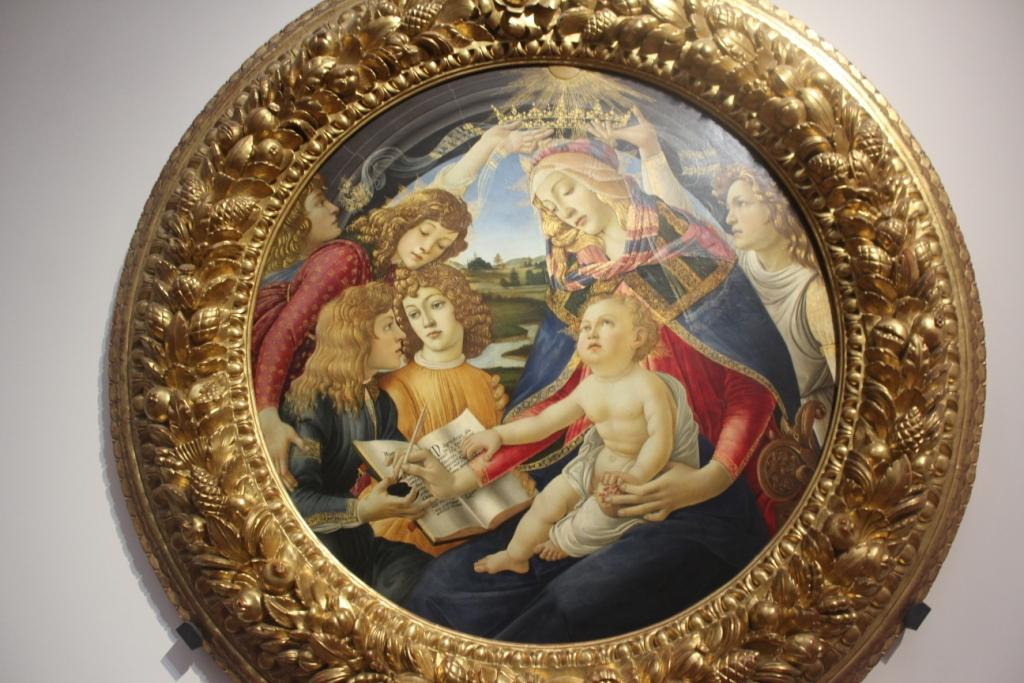 Madonna of the Magnificat - Botticelli