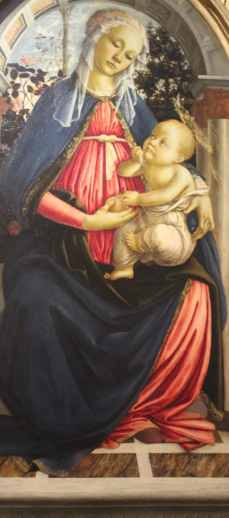 Madonna of the Rose Garden - Botticelli