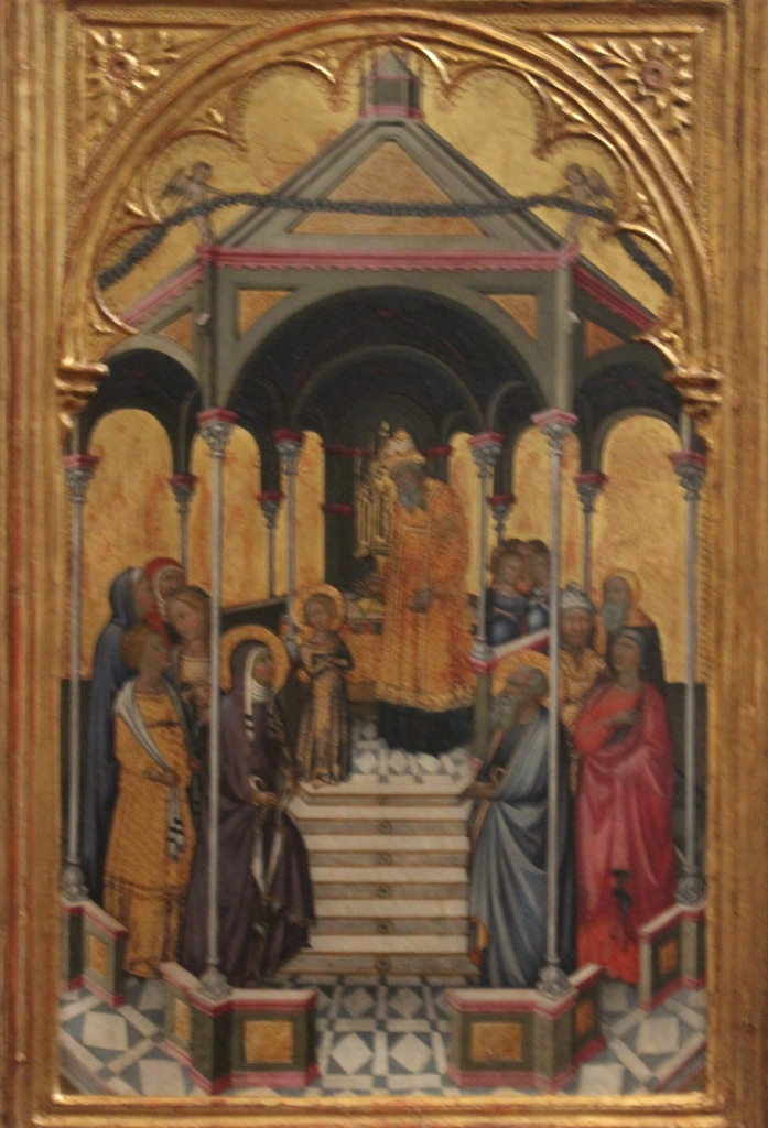 Presentation of the Virgin - Niccolo di Buonaccorso