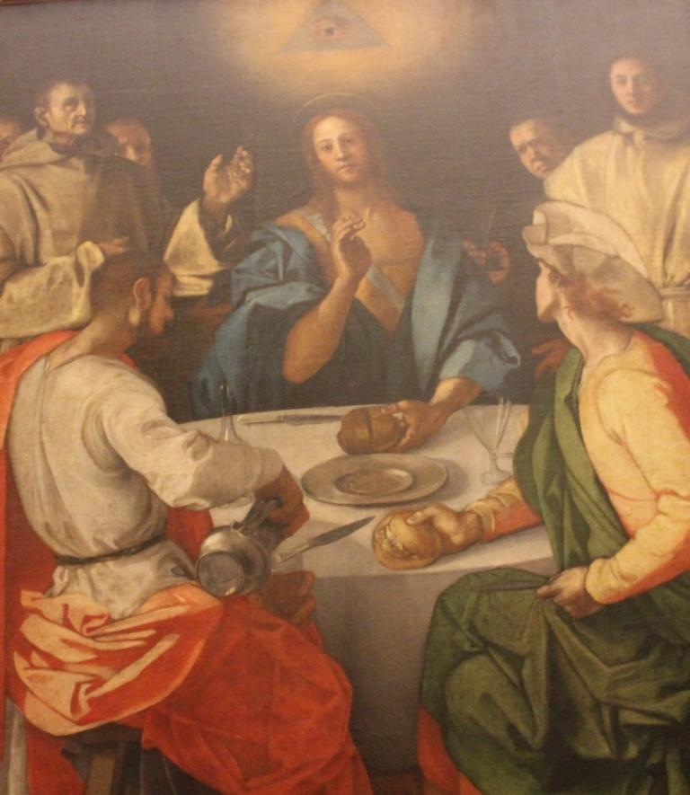 Supper at Emmaus - Pontorno