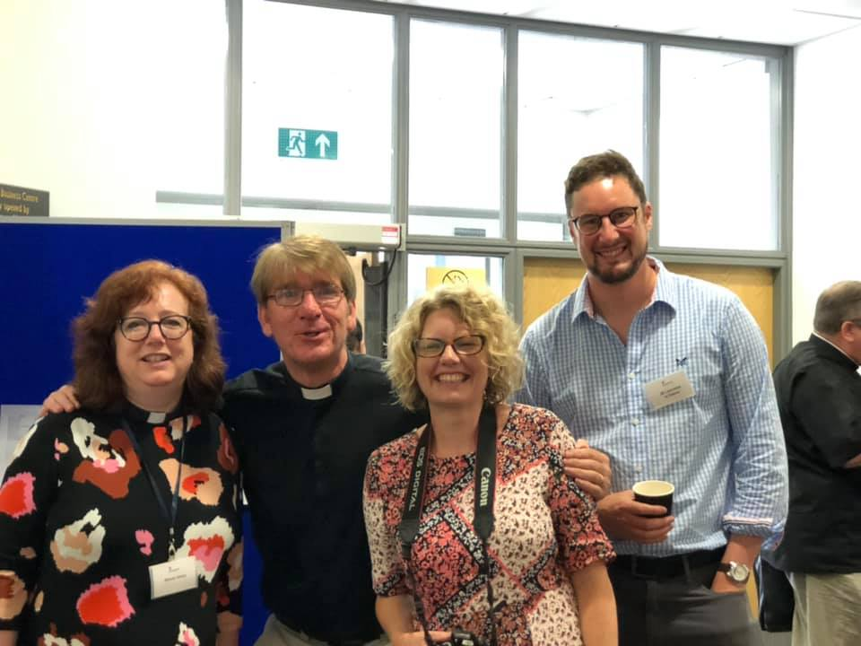J-D Laurence with the team at St Padarn's Summer School 2019