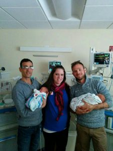 Kristi with IPs and Twins