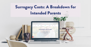 Image of Surrogacy Costs: A Breakdown for Intended Parents
