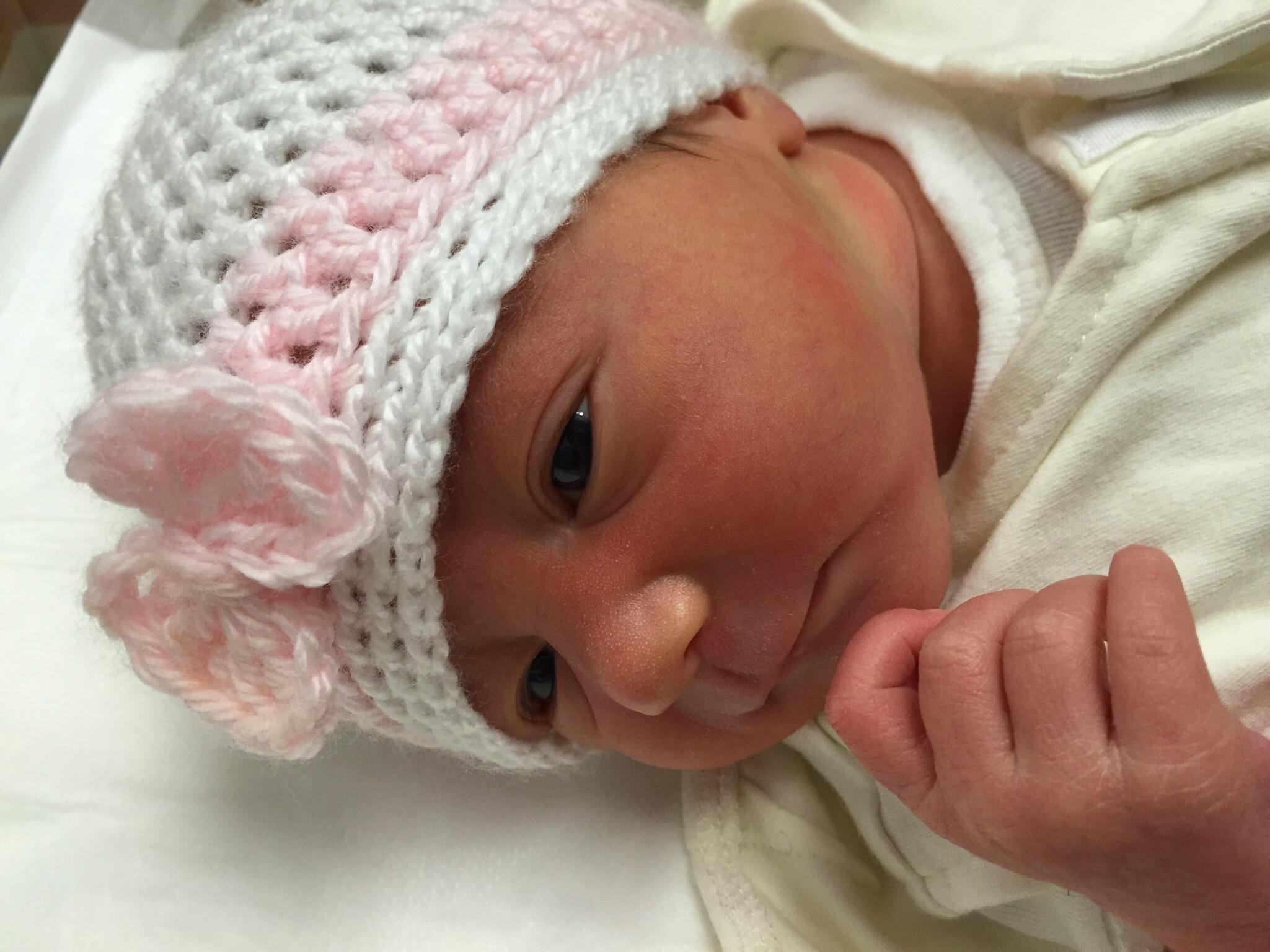 Newborn baby Ines