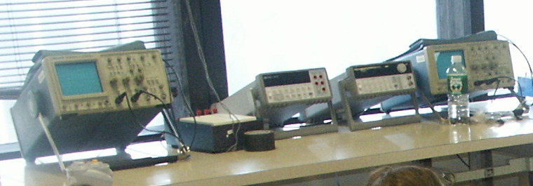 Electronics lab bench
