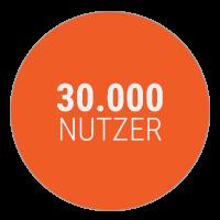 30000-nutzer - Cision Partner bubble