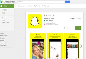 Snapchat Android