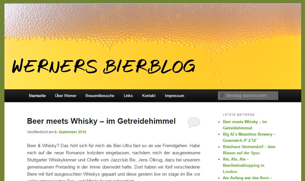 Bier - 10 erfrischende Blogs aus Deutschland