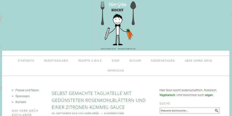 10 vegetarische Foodblogs, die Ihnen schmecken werden