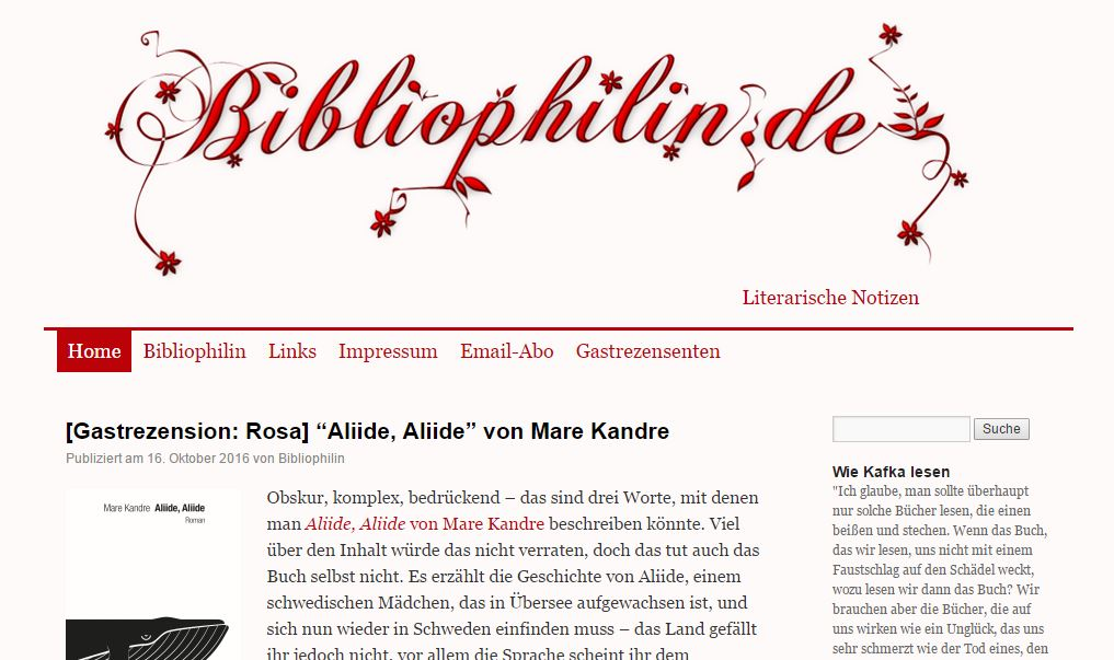 Literatur - 10 deutsche Blogs, die Sie lesen sollten
