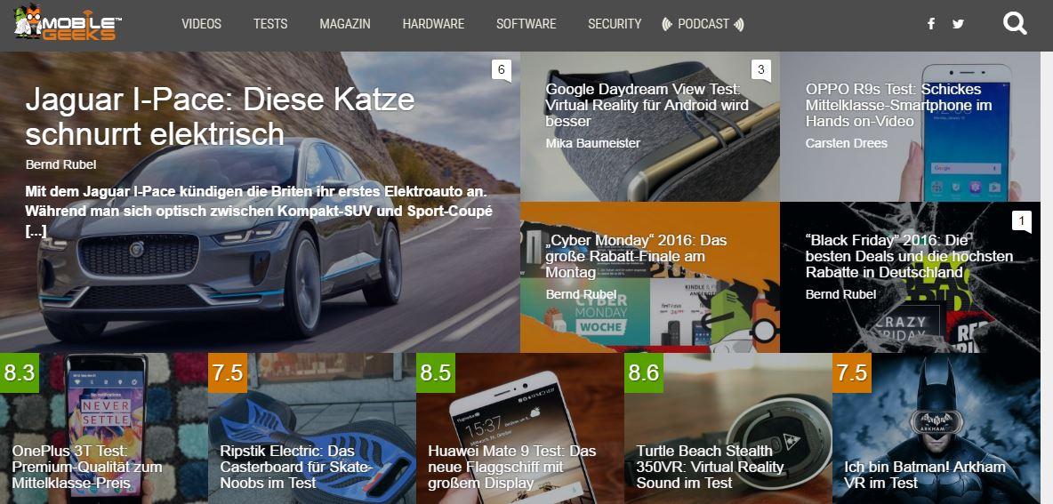 Gadgets - Diese 15 Blogs aus der DACH-Region sollten Sie kennen