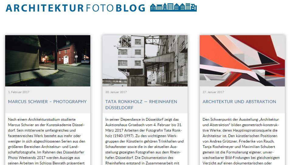 Architektur - 7 erbauliche Blogs aus Deutschland
