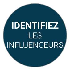 Identifier les influenceurs