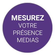 Mesure de la présence medias