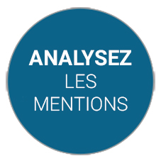 Analyse des mentions