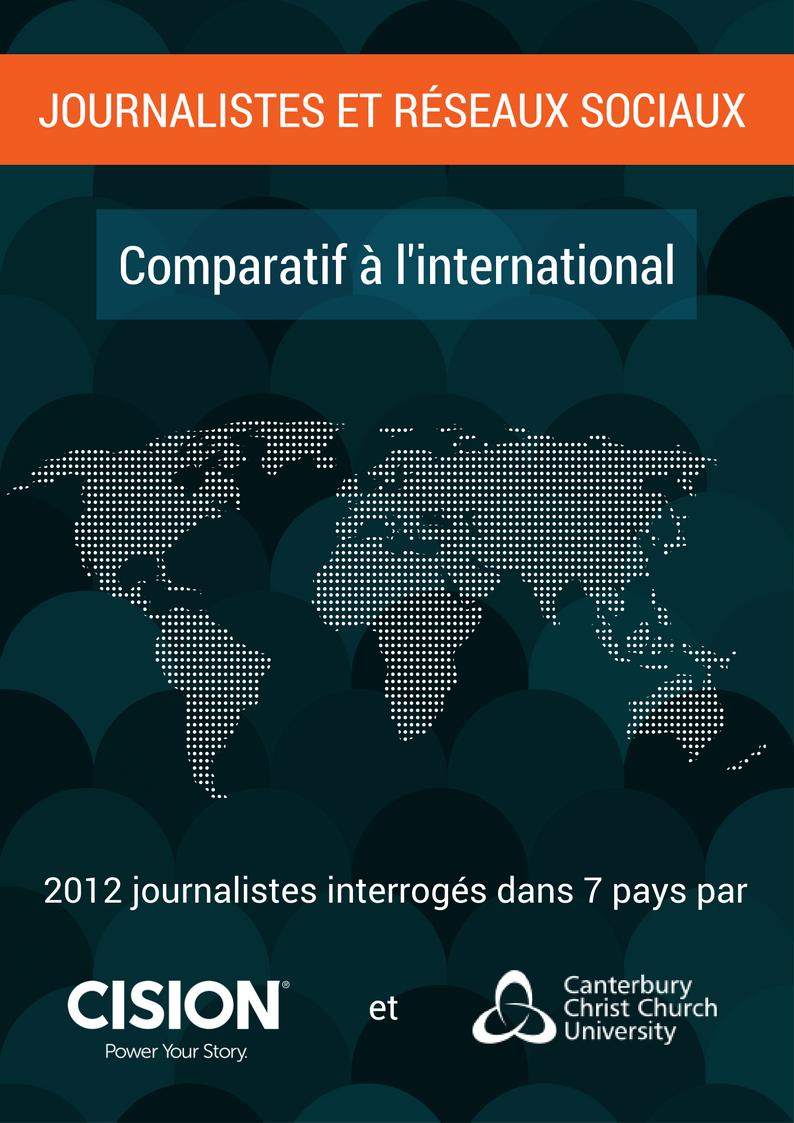 Journalistes et Réseaux Sociaux - Comparatif à l'international