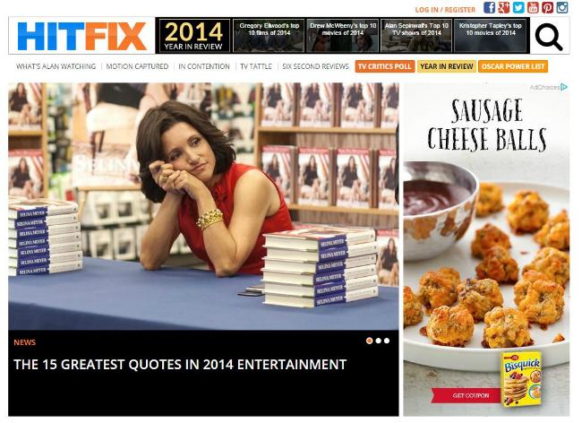 HitFix Screengrab