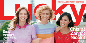 Lucky Magazine Puts Three Fashion Bloggers on Its February Cover
