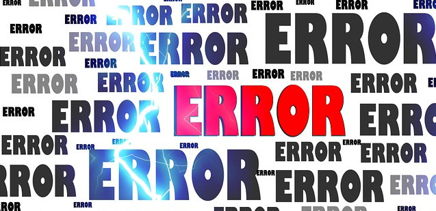 Error - Pitching Mistake Recover