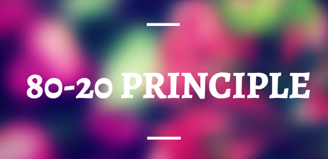 80-20 Principle of Media Pitching