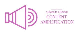 3 Steps to Efficient Content Amplification