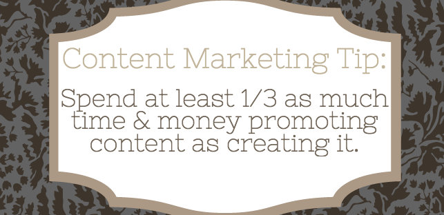 Content Marketing - Paid Promotion