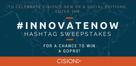 #InnovateNow Sweepstakes