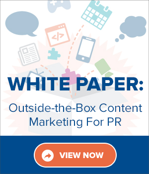Outside-the-Box content marketing for PR