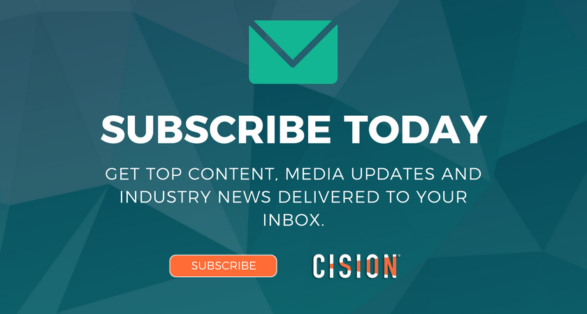 Cision newsletter subscription