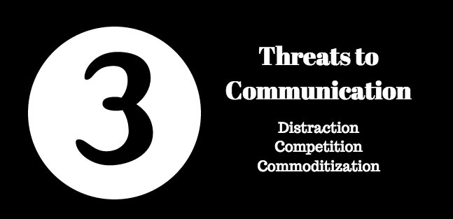 3 Threats to Communication