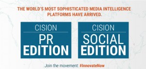Announcing Cision Social Edition and Cision PR Edition!