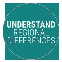 Understand Regional Differences