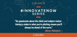 #InnovateNow With Mercy Chikowore: The Power of Passion