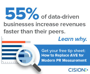 PR Measurement - Data Driven Businesses Drive Revenue