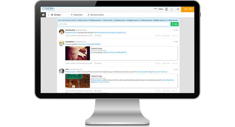 Streams Feature - Cision Social Edition