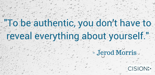 Jerod Morris - Authenticity