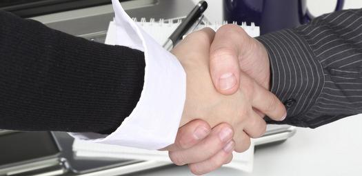 Marketing-Handshake