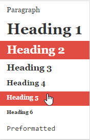 1 cision headings