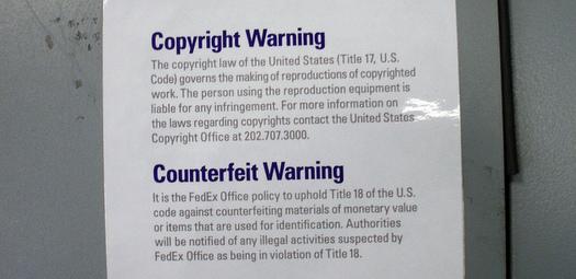Copyright-Warning
