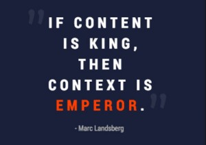 #SMWChicago: 'If Content Is King, Then Context Is Emperor'