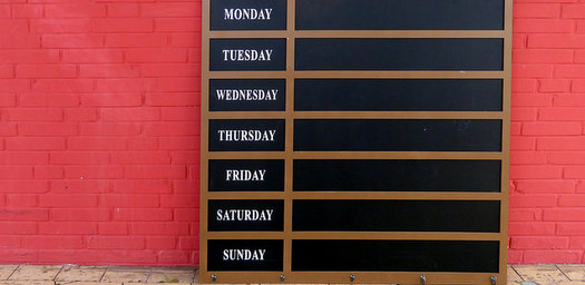 Week-Schedule