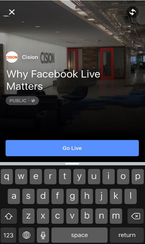 why-facebook-live-matters