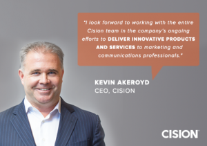 Cision's Journey Continues: Thoughts From Our New CEO