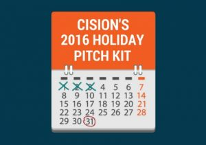 Pitching Kit: Cision's 2016 Holiday Gift Guide PR Kit