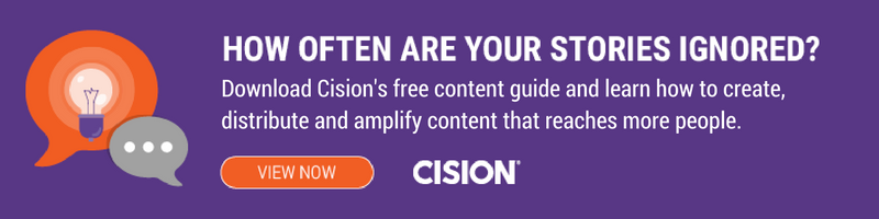 Cision free content guide