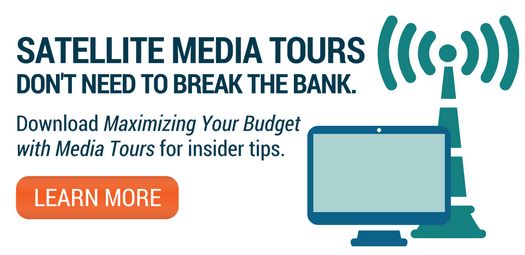 satellite media tours maximize your budget CTA ad
