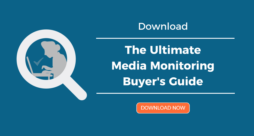 Ultimate Media Monitoring Buyer's Guide CTA