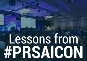 PRSA 2016 International Conference: Be Aggressive, Be Audacious, Be Bold