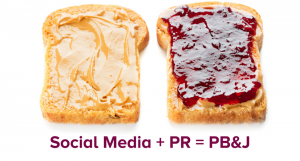 Social Media and PR – Go Together Like Peanut Butter & Jelly