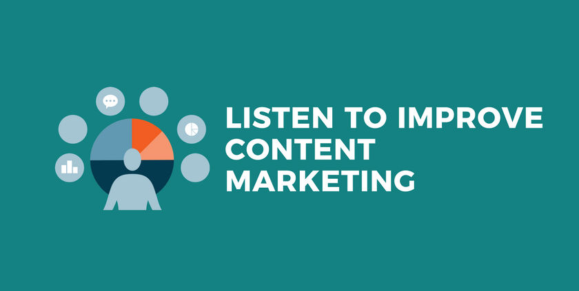 Listen to Improve Content Marketing